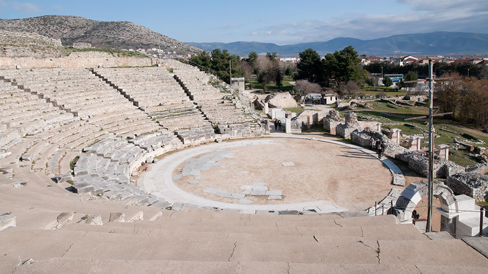 Ancient Theatre   Philippi